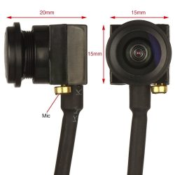 Mini mikró kamera cctv + hang hd pal