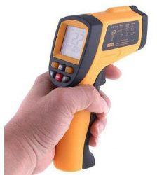 Digitális lézeres infra hőmérő 700C-ig mér infravörös
